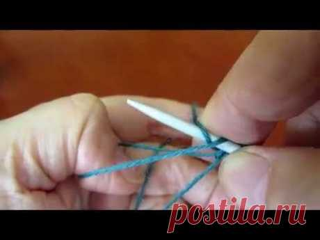 Elastic set of loops (German twisted set of loops)