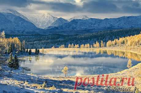 Алтай. Первый снег