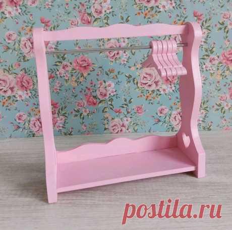 Вешалка для кукольной одежды 20х20см, 20х25см – заказать на Ярмарке Мастеров – O114ORU   Мебель для кукол, Балаково