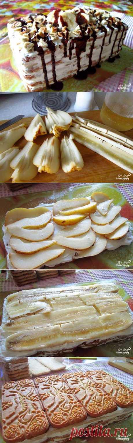Торт из печенья - пошаговый кулинарный рецепт на Повар.ру