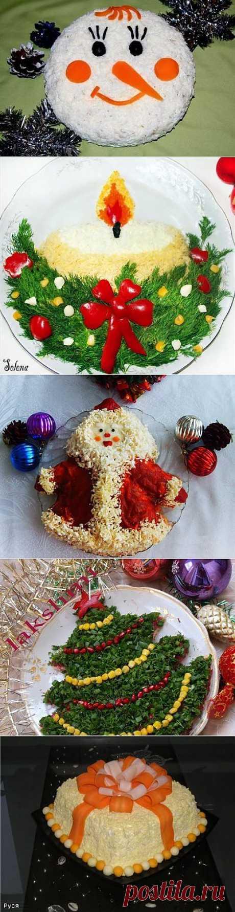 Супер красивые новогодние блюда!.