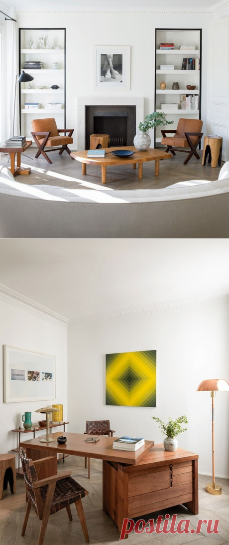 Minimalist apartments in the south of Paris - Interior design | Ideas of your house | Lodgers