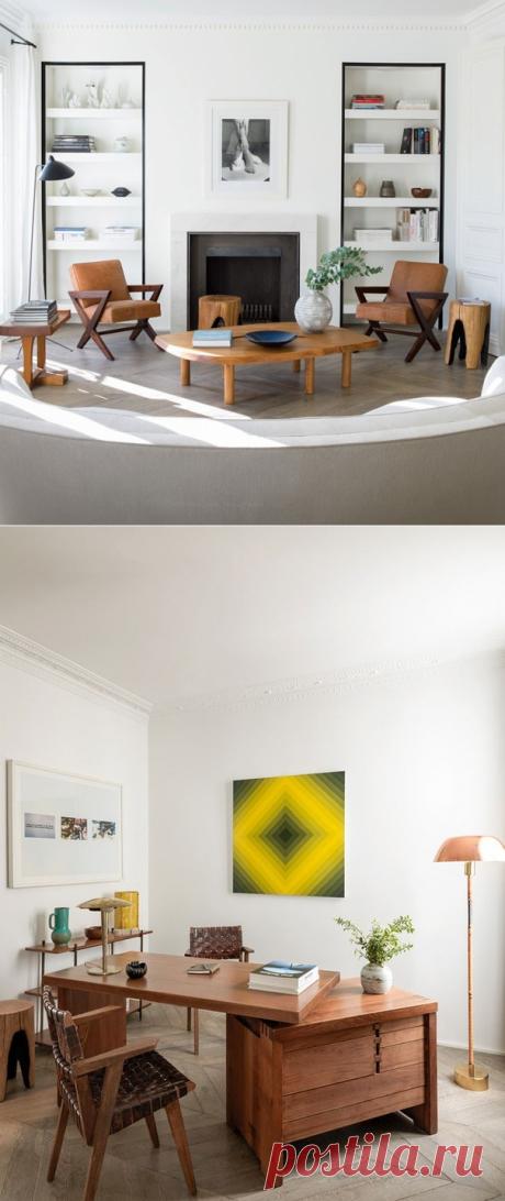 Минималистичные апартаменты на юге Парижа - Дизайн интерьеров | Идеи вашего дома | Lodgers