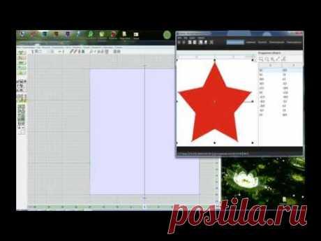 Звезда для вязания в DesignaKnit + CorelDraw  Внимание конкурс! - Машинное вязание - Страна Мам