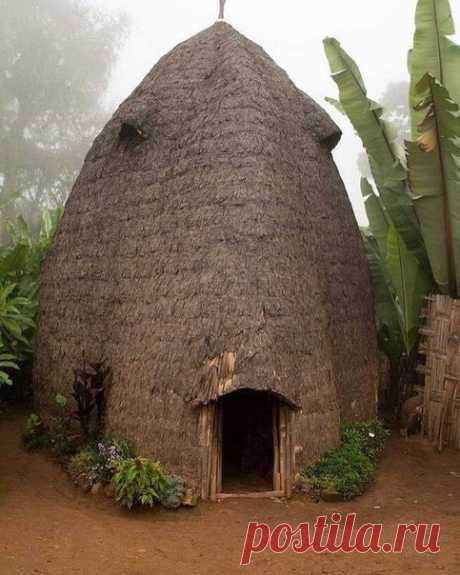 Хижина в Эфиопии