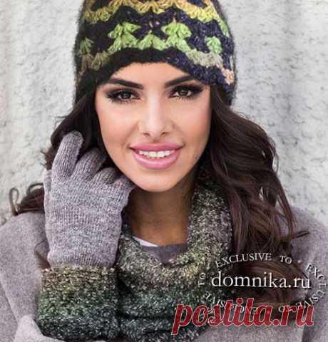 Вязание крючком шапочки для женщин быстро связать шапку