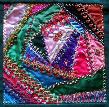 How+to+Make+Crazy+Quilt | ... started this quilt i didn t have any idea how to make a crazy quilt