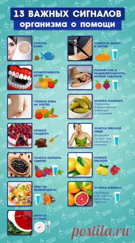 13 señales importantes del organismo sobre la ayuda