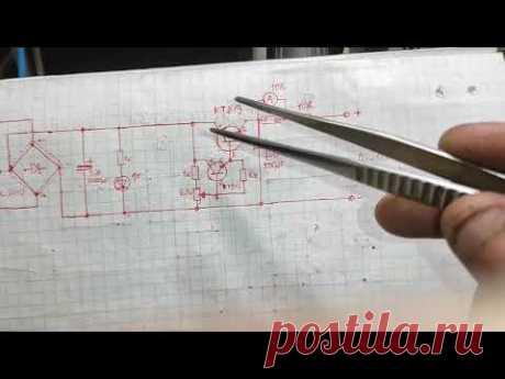 Схема зарядного устройства для аккумуляторов .