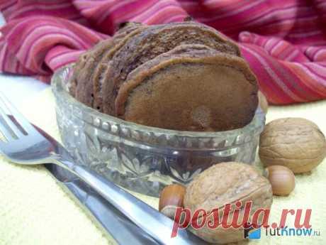 Шоколадные оладьи на кефире: пошаговое приготовление