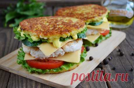 Бульба бургер (драник бургер) рецепт с фото - 1000.menu