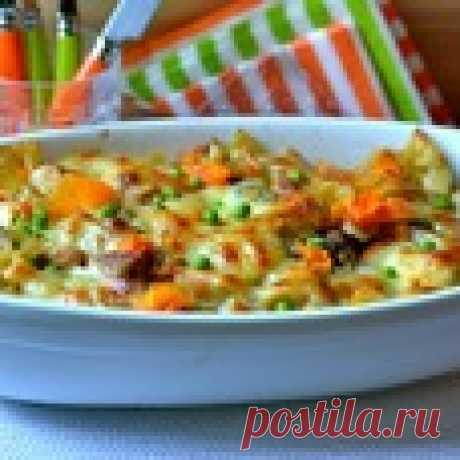 Запеченные макароны Кулинарный рецепт