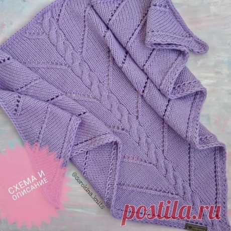 Бактус спицами — Красивое вязание