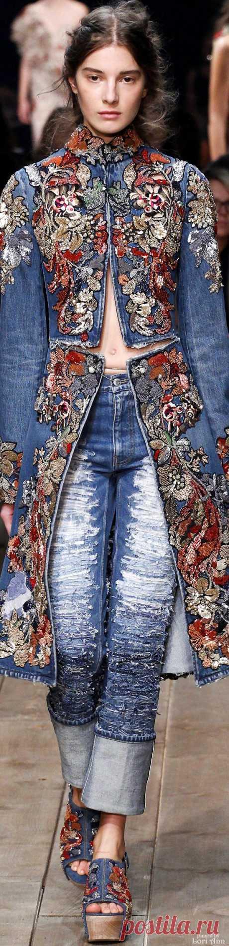 Alexander McQueen джинсы