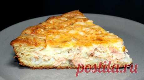 """Чудо"": рецепт заливного пирога с рыбой - Утро.ru - медиаплатформа МирТесен"