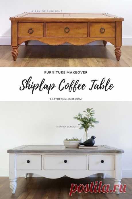 Новая жизнь для старой мебели — DIYIdeas