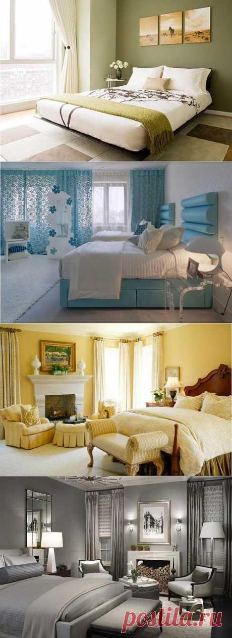 (+1) тема - Какой цвет выбрать для спальни   МОЙ ДОМ