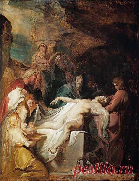 Погребение Христа. Питер Пауль Рубенс. Описание картины, скачать репродукцию.