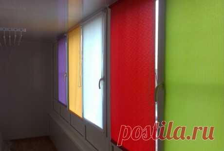 Рулонные шторы в Симферополе от 469 руб.