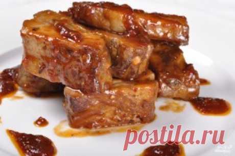 Свиные ребрышки в медовом соусе - пошаговый рецепт с фото на Повар.ру