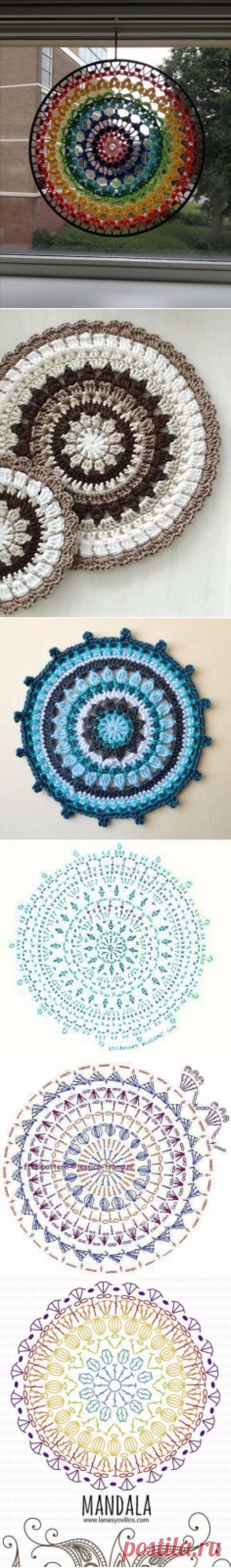Рукоделие (Вязание, шитье, вышивка)Мандалы