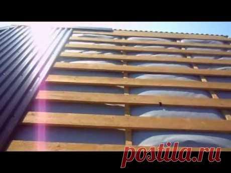 Смотреть видео сколько стоит покрасить крышу дома цена работы бесплатно