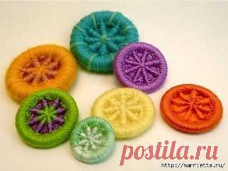 Делаем пуговицы для вязаной одежды — DIYIdeas
