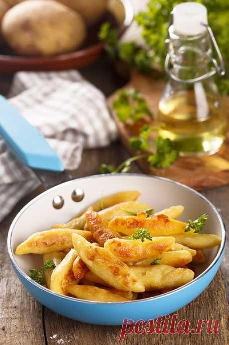 Картофельные пальчики (Schupfnudeln).