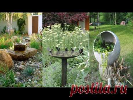 Красивые элементы декора для вашего сада