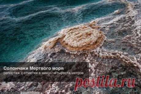 Солончаки Мертвого моря (14 фото) . Тут забавно !!!
