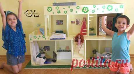 Делаем красивый дом и мебель для кукол Барби - Ярмарка Мастеров - ручная работа, handmade