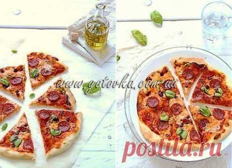 Рецепт вкусной пиццы