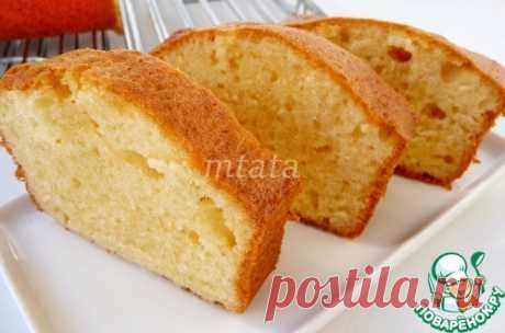 Кекс со сливочным сыром – кулинарный рецепт