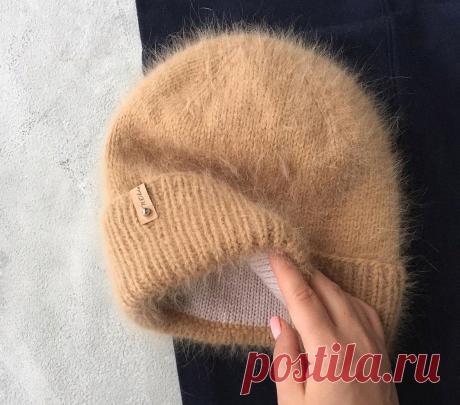 Описание шапки из пуха норки с подкладкой из мериноса.