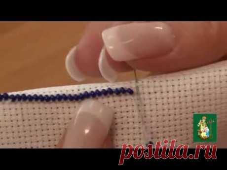 Видеоурок №1 - Техника вышивки бисером