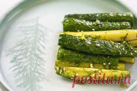 Битые огурцы по-китайски – пошаговый рецепт с фотографиями