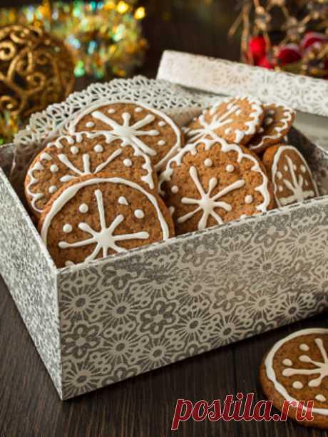 Ура! Вот оно - имбирное рождественское печенье!!!!