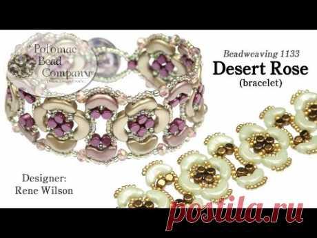 Desert Rose Bracelet (Tutorial)