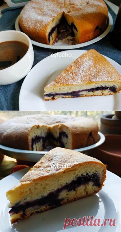 Алена Спирина  Творожный пирог с ягодами ГОТОВИМ БЕЗ ХНЫКОВ