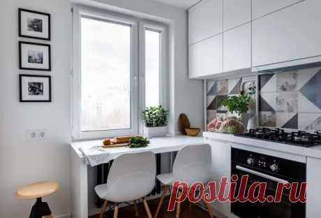 7 маленьких, но очень удобных кухонь: в чем их секрет? - Квартира, дом, дача - медиаплатформа МирТесен