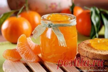 Рецепт ароматного варенья из мандаринов!