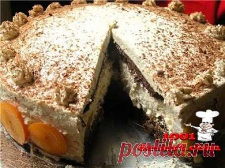Торт сливово-ореховый с коньячным кремом » Простые десерты