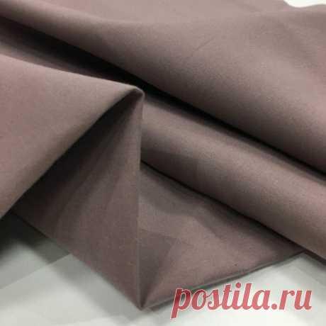 Плащевая темно розовая (хлопок с пропиткой) MARNI