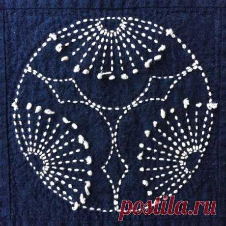 Шаблоны для сашико вышивки