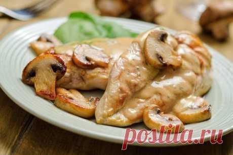 ТОП-6 Las cenas de la pechuga de pollo