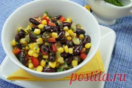 Салат с кукурузой Мазурка рецепт с фото пошагово - 1000.menu