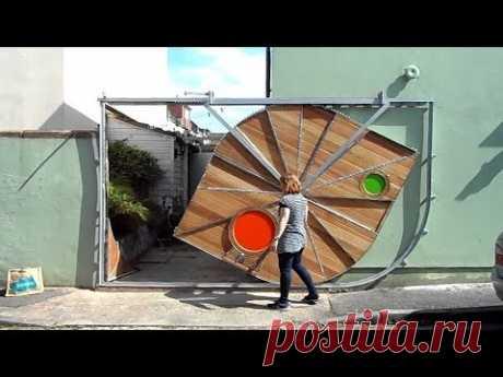 Удивительные ворота и двери совершенно нового уровня