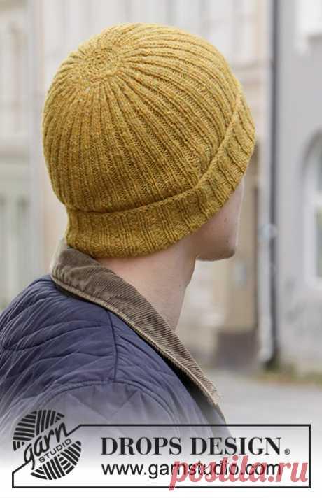 Мужская шапка Sun In The City от DROPS Design - блог экспертов интернет-магазина пряжи 5motkov.ru
