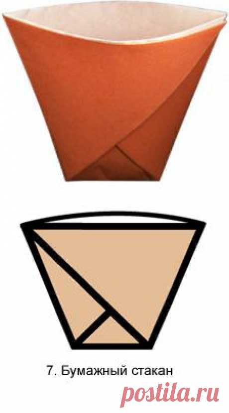 Origami glass