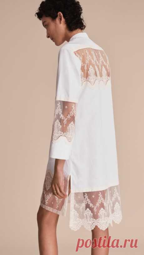 Кружевные детали (подборка) Модная одежда и дизайн интерьера своими руками